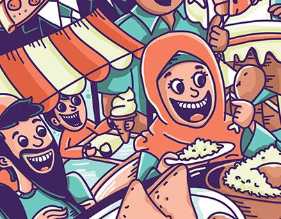 Food Fest (illustration)