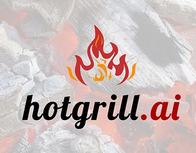 Logo design hotgrill