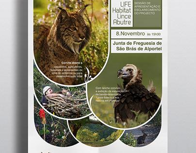 Life Habitat Lince Abutre :: posters & brochures
