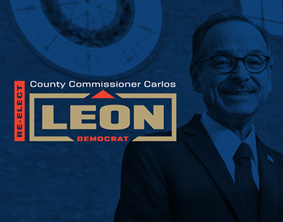 Carlos Leon Political Campaign Branding and Website
