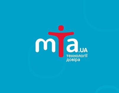 MTA.UA – logo & identity of digital equipment store