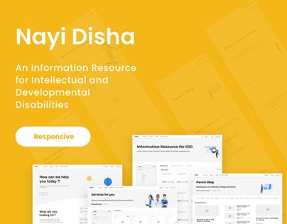 Nayi Disha responsive
