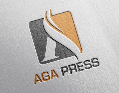 AGA Press Logo & Website Design