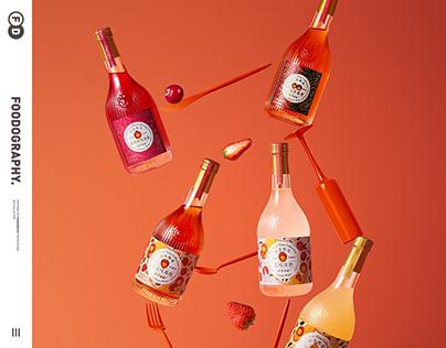 fruit wine果酒摄影 | 狮子歌歌 ✖ foodography