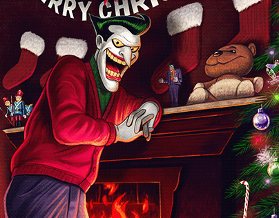 Christmas with the Joker (official print)