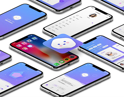 SKIN BEE : 서비스 디자인 앱 (김나영)