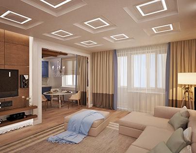 Квартира 104 кв.м на ул.Столетова, Москва