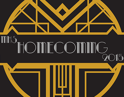 Mason High School Homecoming Logo