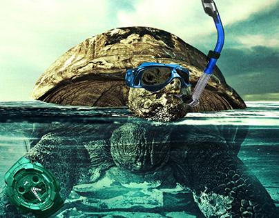 Casio G-SHOCK Afiş Tasarımı