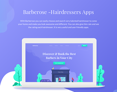 Barberose - Hairdressers Apps