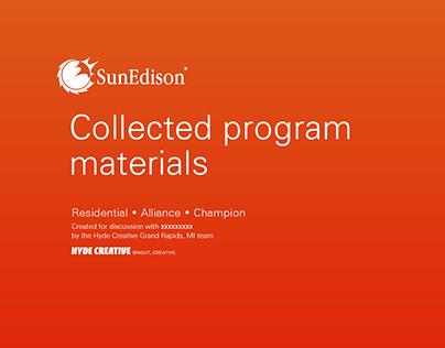 Program Launch / SunEdison Residential Solar