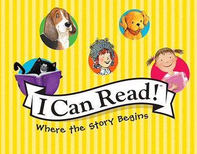 I Can Read! website for Harper Collins