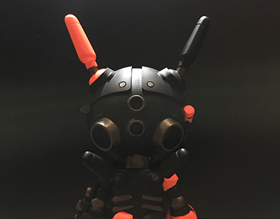 MECHASOUL BLANK CUSTOM VINYL TOY
