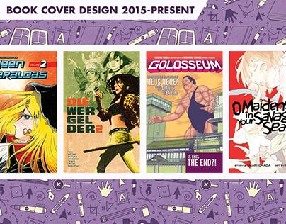 Book Cover Design 2015-Present