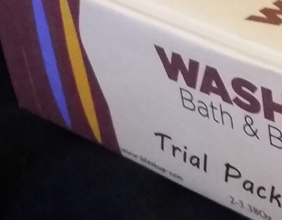 """WASHUP"" Bath and Body"