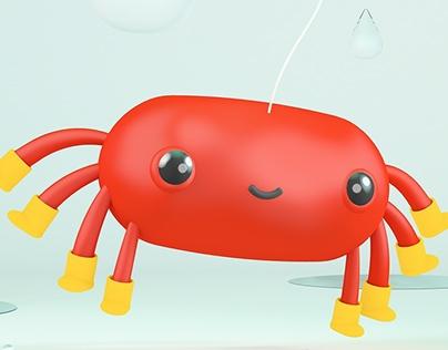 Little Red Spider