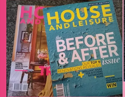 Copy Editing - House and Leisure Magazine