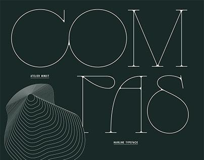 COMPAS - Typeface