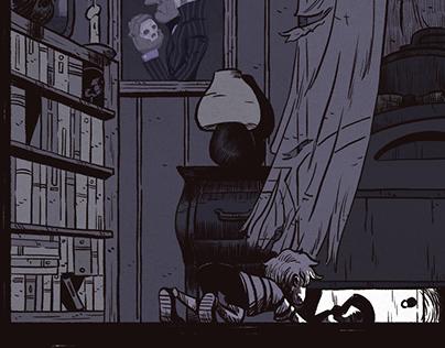 Horror House. Mini Comic.
