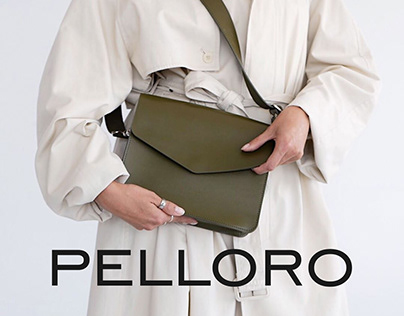 PELLORO bags & accessories - Redesign concept