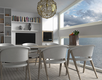 Living on the ocean - interior design
