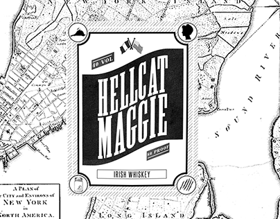 Hellcat Maggie | bottle design