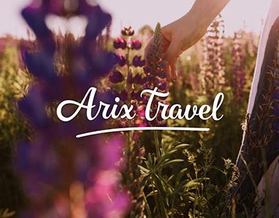 Branding: Arix Travel