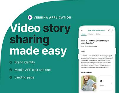 Video Story Sharing APP