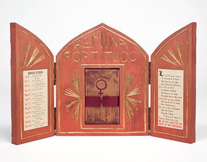"""""""Femina Fortitudo"""" Altar Piece"""