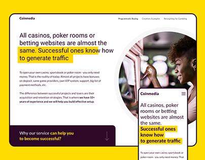 Coinmedia | Landing-page