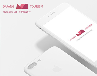 UI/UX Concept design of DAFANG Tourism