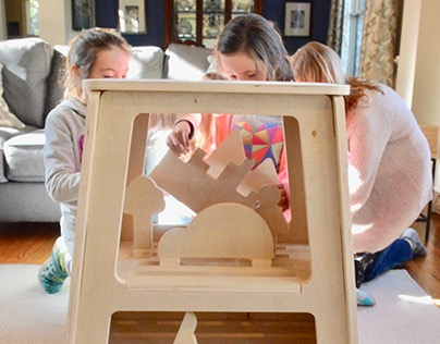 Storyscape - a Storytelling Stool for Kids