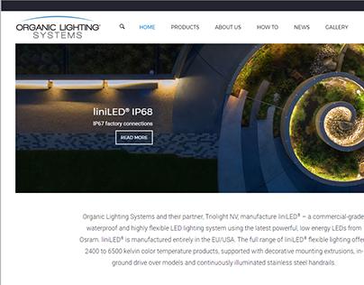 Organic Lighting Systems website