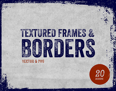 Textured Frames & Borders