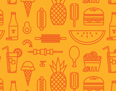 Summer Food Pattern