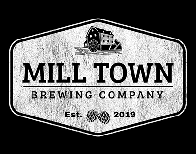 Mill Town Brewing Company Logo Design