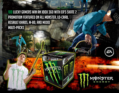 Monster Energy Campaign Posters