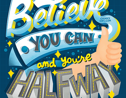 Believe You Can Lettering