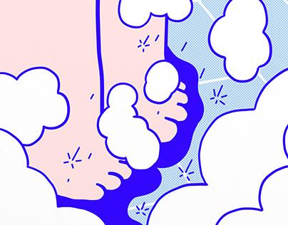 cosmica-Thundershower|洗澡
