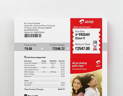 Phone Bill | Redesign