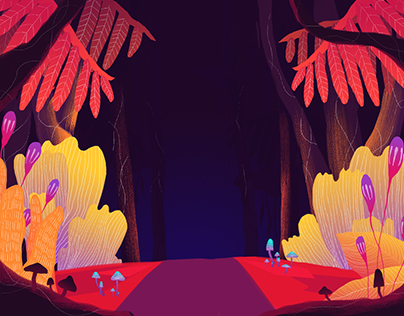 Roots - Animation and Background Design