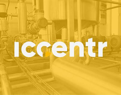 ICCENTR. Brand identity