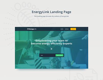 EnergyLink Landing Page