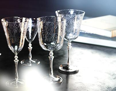 Arabian wine glasses