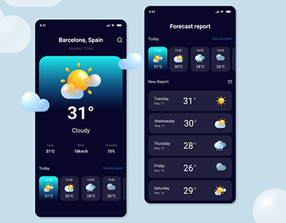 Weather App UX/UI
