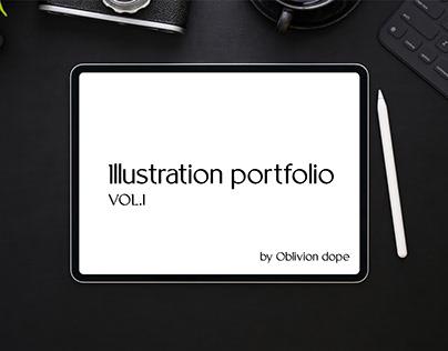 Illustration portfolio vol.1