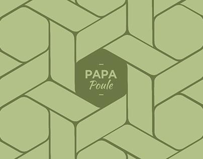 Papa Poule identity