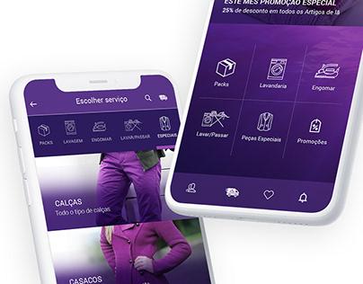 Max Clean - Mobile App