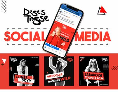 Social Media I Desestresse