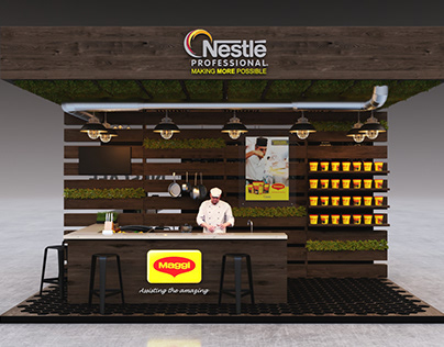 nestle professional booth 2019